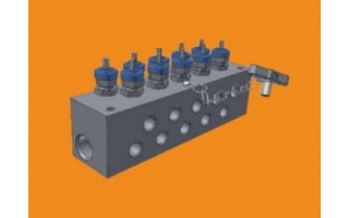 Compact Distribution Manifold (H Series) <br />Catalog 4190-DM <br />May 2005